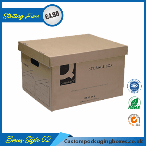 CD Storage Packaging Boxes 02