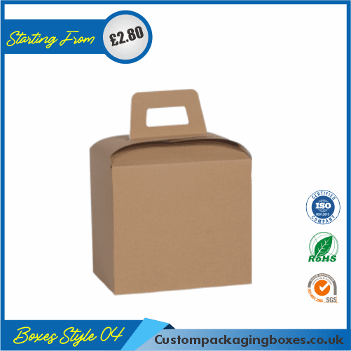 Cardboard Carry Packaging Boxes 04