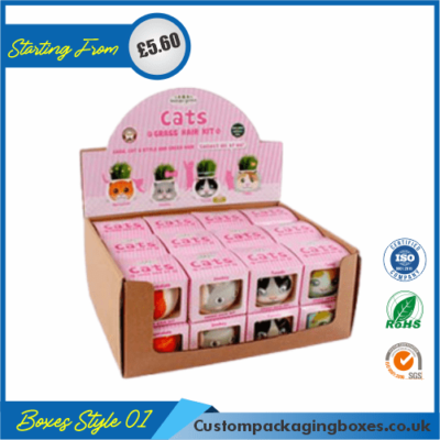 Cardboard Display Boxes 01