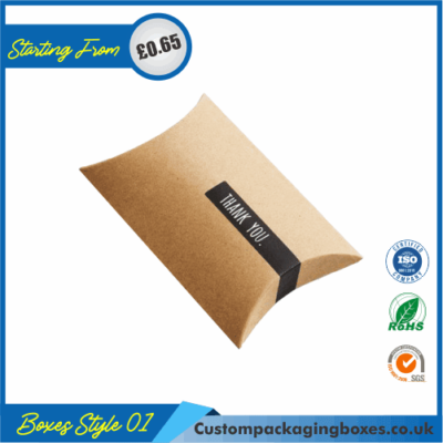 Cardboard Pillow Packaging Boxes 01