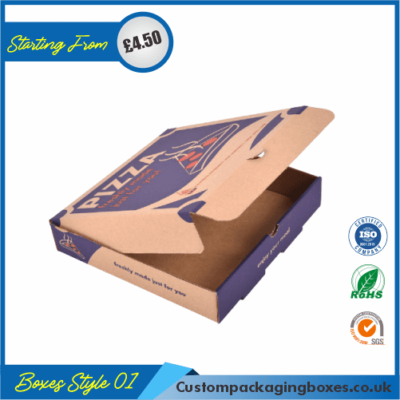 Cardboard Pizza Packaging Boxes 01