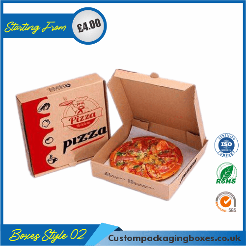 Cardboard Pizza Packaging Boxes 02
