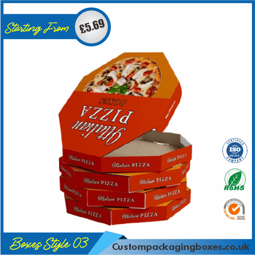Cardboard Pizza Packaging Boxes 03