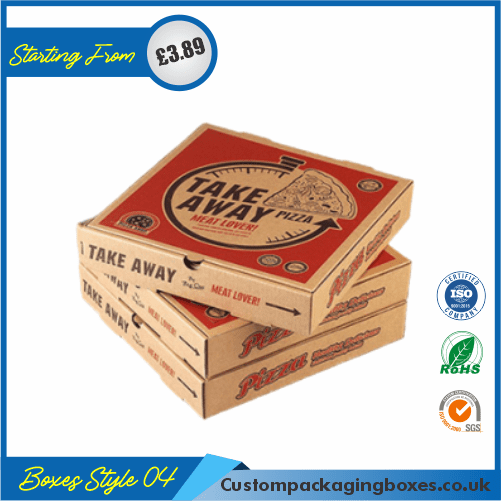 Cardboard Pizza Packaging Boxes 04