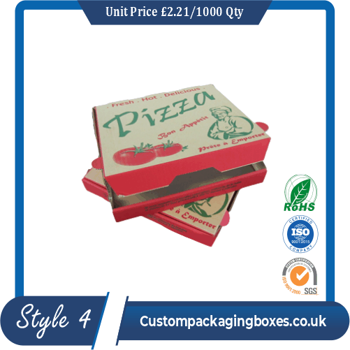 Cardboard Pizza Packaging Boxes
