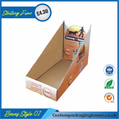 Cardboard Retail Boxes 01