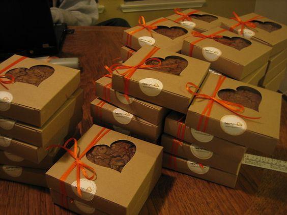 Chocolate Brownie Boxes uk