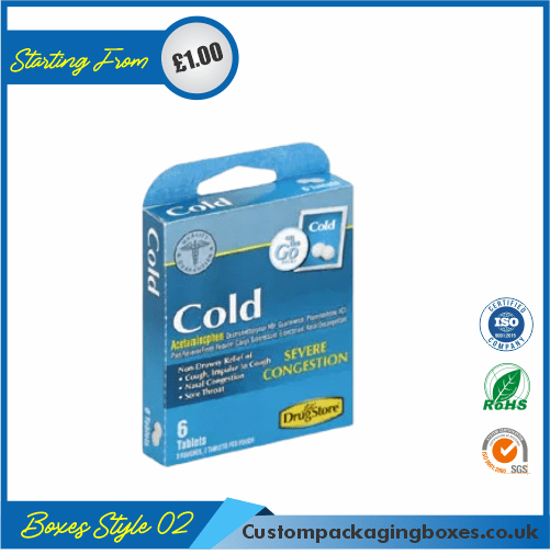Cold Medicine Packaging Boxes 02