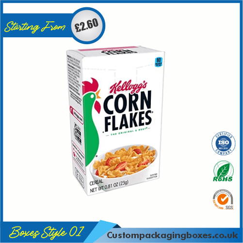 Corn Flakes Cereal Boxes 01