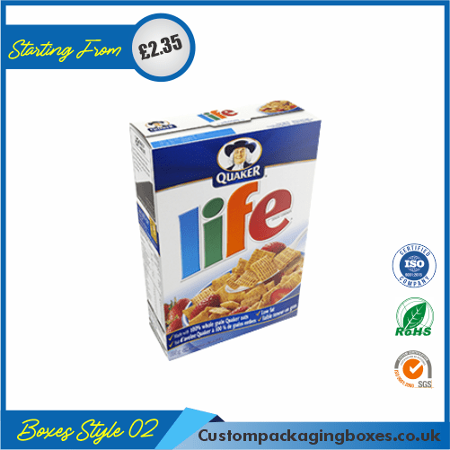 Corn Flakes Cereal Boxes 02