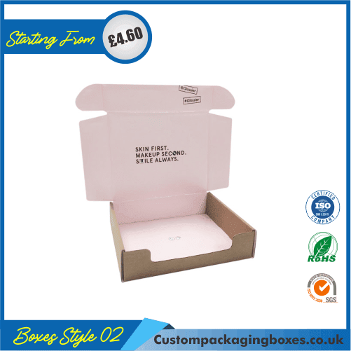 Cosmetic Foldable Boxes 02