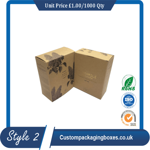Anti-ageing Mask Packaging Boxes