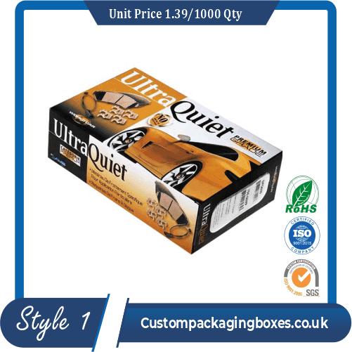 Custom Brakes Disc and Bearing Packaging Boxes sample#1