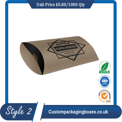 Cardboard Pillow Packaging Boxes