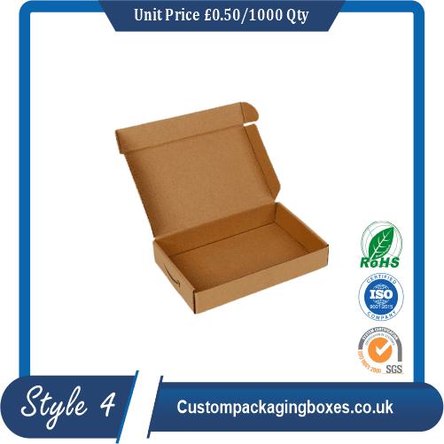 Foldable Kraft Gift Boxes