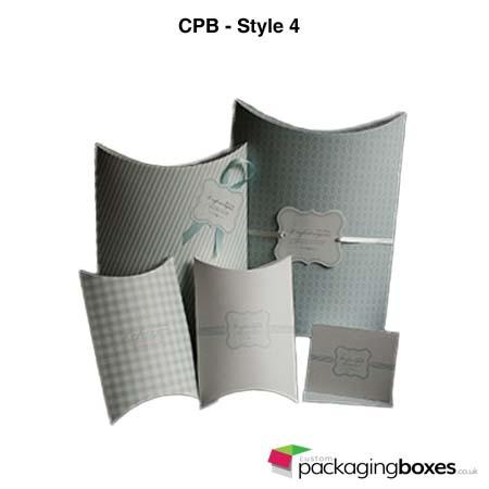Custom Folding Pillow Packaging Boxes