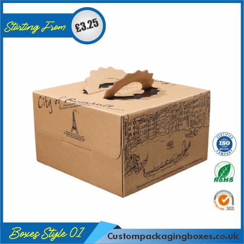 Custom Kraft Cake Boxes 01