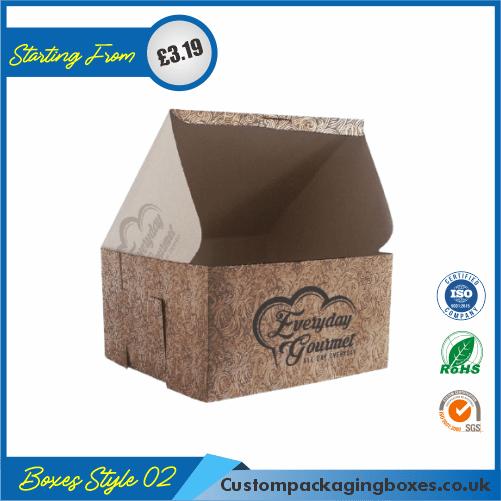 Custom Kraft Cake Boxes 02