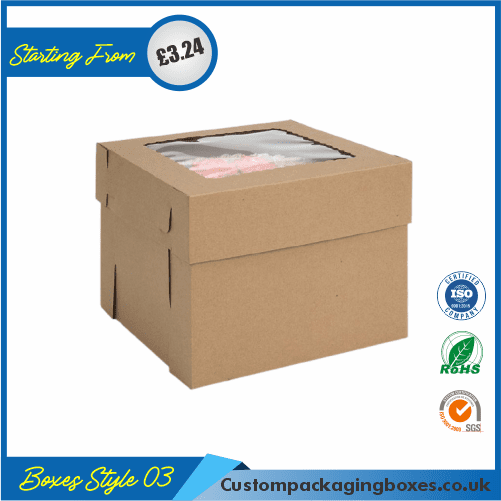 Custom Kraft Cake Boxes 03