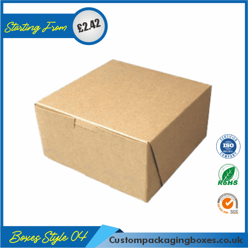 Custom Kraft Cake Boxes 04