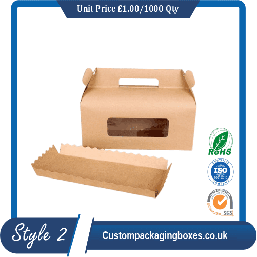Kraft Gable Packaging Boxes