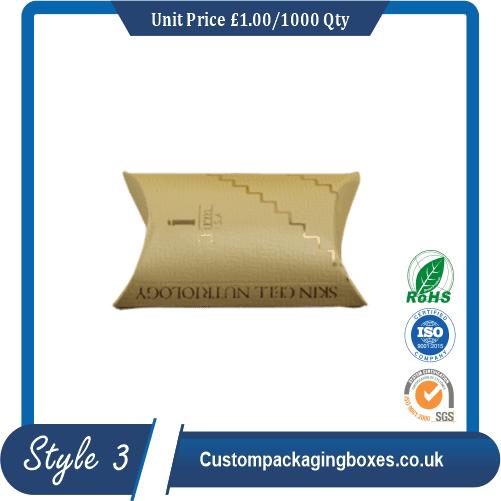 Kraft Paper Pillow Soap Boxes