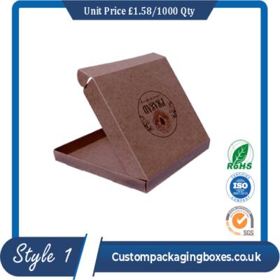 Custom Kraft Pizza Boxes sample #1