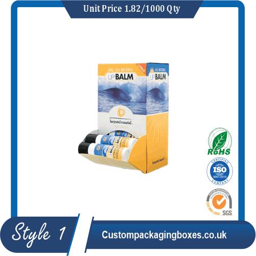 Custom Lip Balm Display Boxes sample #1