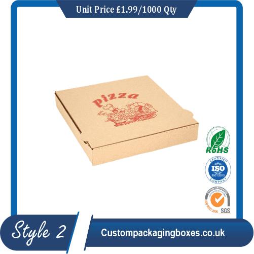 Logo Printed Pizza Boxes