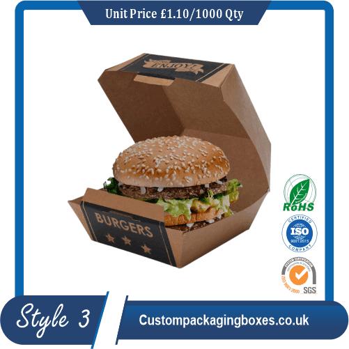 Mini Burger Boxes