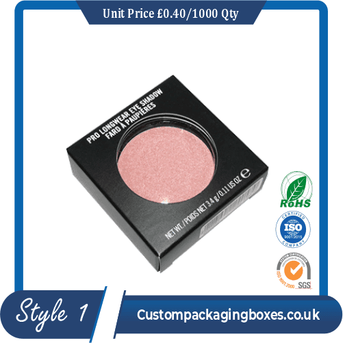 Custom Printed Eyeshadow Packaging Boxes