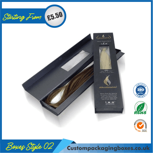 Custom Printed Hair Extension Packaging Boxes 02