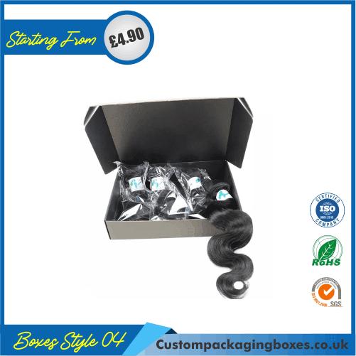 Custom Printed Hair Extension Packaging Boxes 04