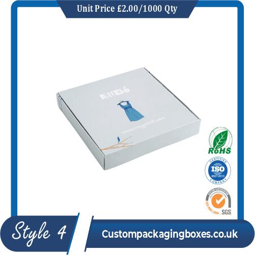 Printed Kraft Apparel Packaging Boxes
