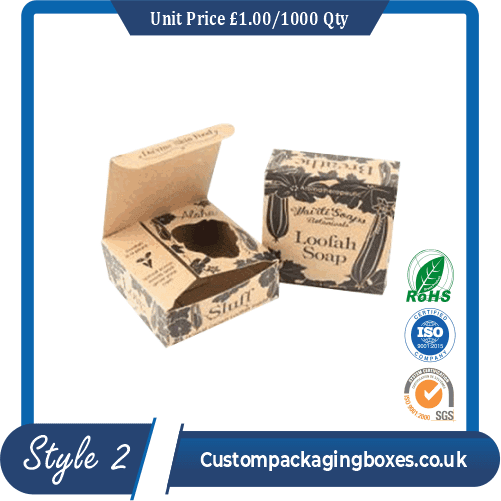 Soap Flip Packaging Boxes