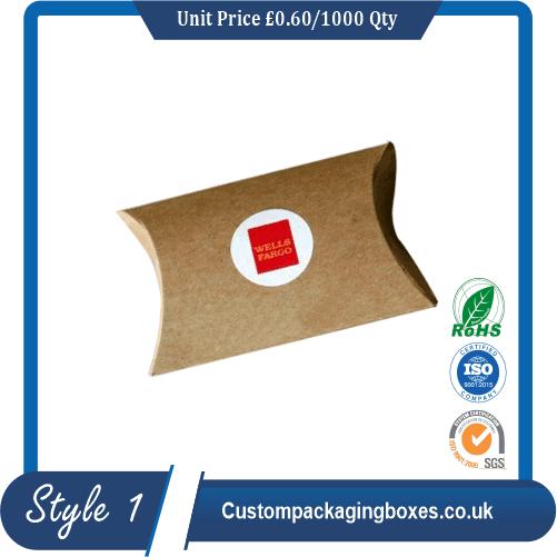 Custom Tea Pillow Boxes sample #1