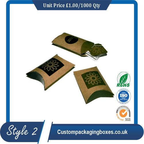 Tea Pillow Boxes