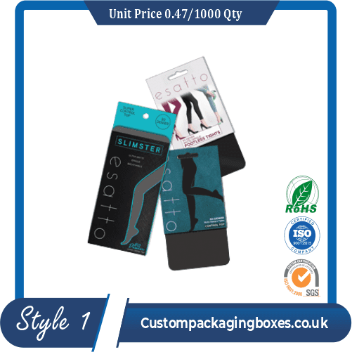 Custom Tights Packaging Boxes sample #1
