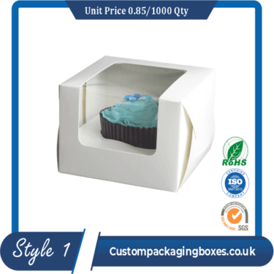 Custom Window Dessert Packaging Boxes sample #1