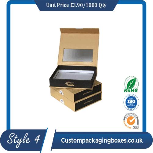 Window Tie Packaging Boxes