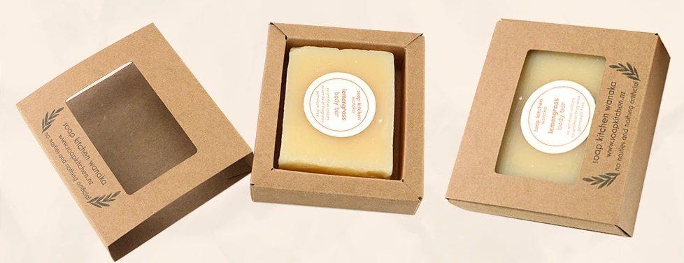 Custom drawer kraft soap boxes
