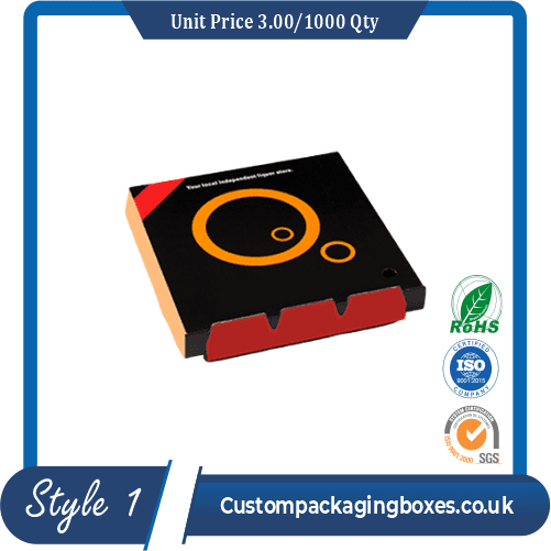 Digital Printed Pizza Boxes sample #1