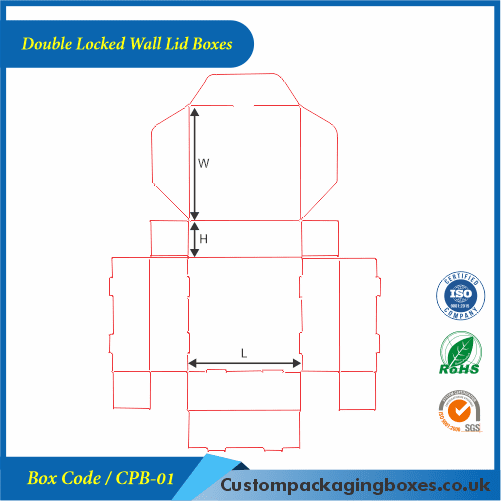 Double Locked Wall Lid Boxes 04