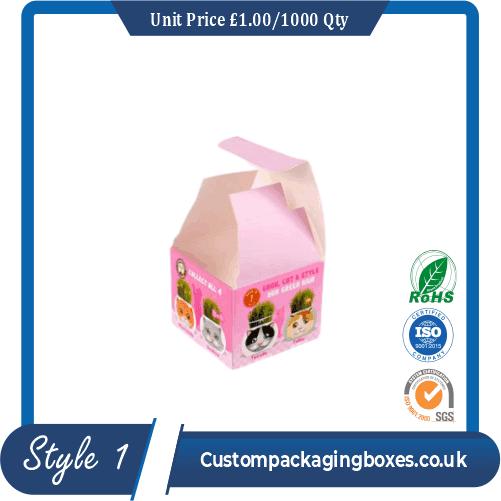 Earring Packaging Boxes sample #1