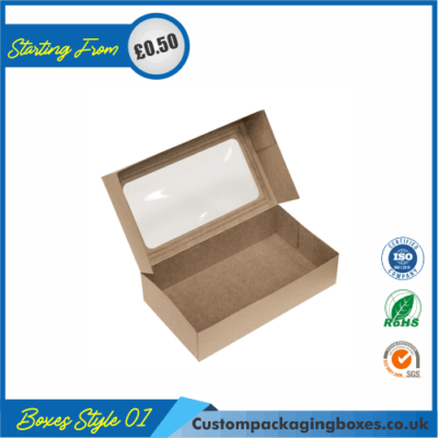 Foldable Kraft Gift Boxes 01