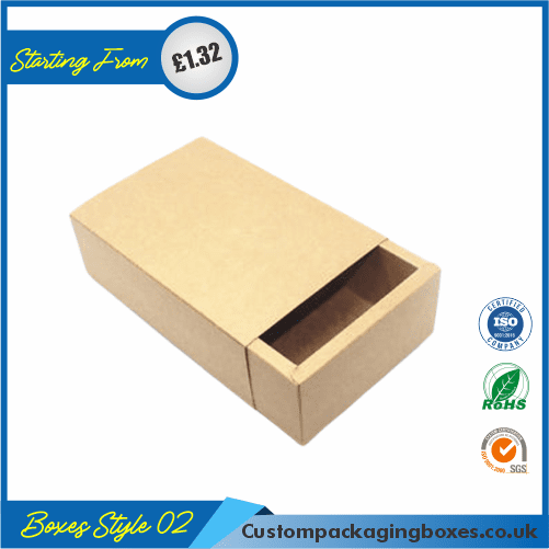 Foldable Kraft Gift Boxes 02