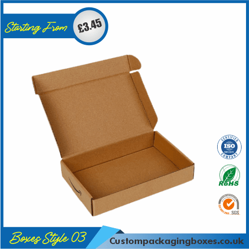 Foldable Kraft Gift Boxes 03