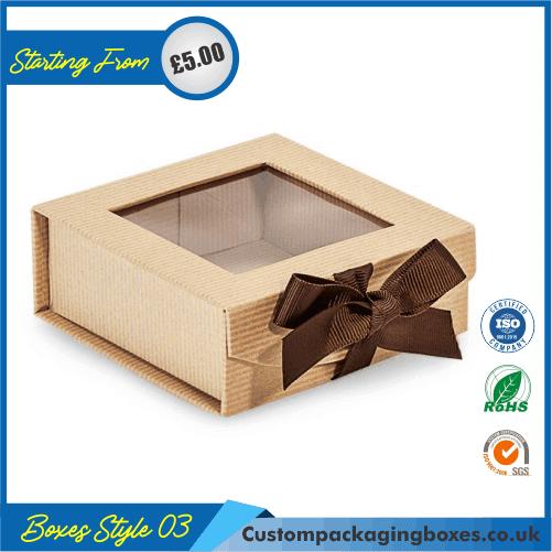 Foldable Kraft Gift Boxes 03