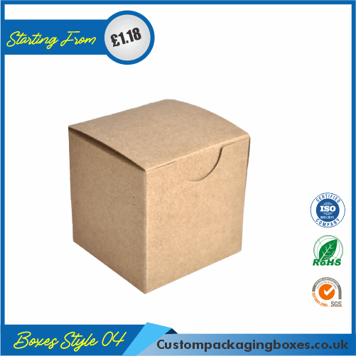 Foldable Kraft Gift Boxes 04