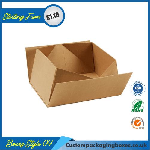 Foldable Kraft Gift Boxes 04
